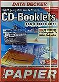 15 CD-Booklet-Etiketten / 7 CD-Bodenteil-Etiketten, spezialbeschichtet. Geeignet für: Laser-Druck, Tintenstrahl-Drucker.