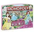 Hasbro - B4644 - Jeu de Plateau - Monopoly Junior - Disney Princesses