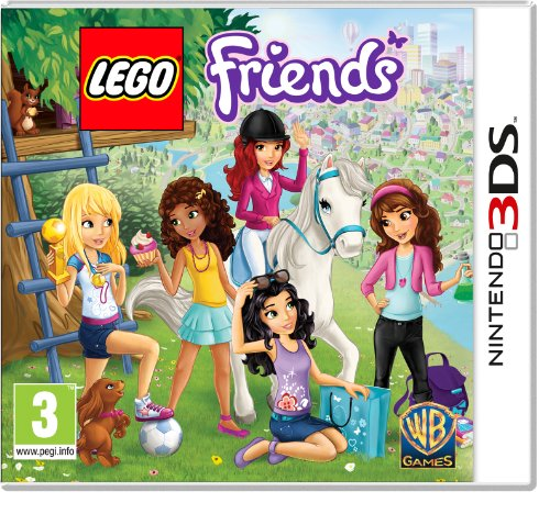 Warner Bros. Interactive, Lego Friends Per Console Nintendo 3Ds