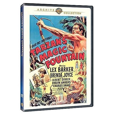 Tarzan's Magic Fountain by Brenda Joyce, Albert Dekker, Evelyn Ankers Lex Barker