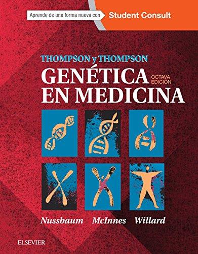 Thompson & Thompson. Genética en Medicina + StudentConsult por R.L Nussbaum