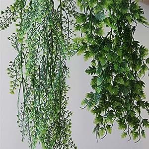homescapes deko h ngepflanzen ca 50 cm gr n kunstpflanzen k nstliche pflanzen. Black Bedroom Furniture Sets. Home Design Ideas