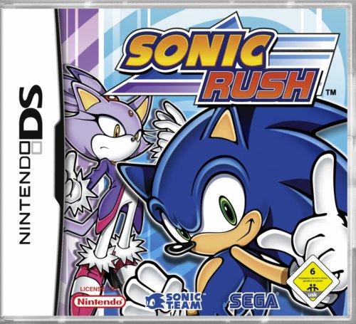 Sonic Rush [Software Pyramide] (Ds Sonic-spiel Für Den)