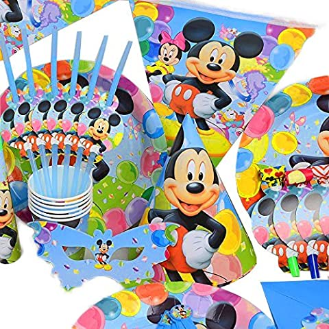 Disney – Mickey Mouse – Anniversaire de mariage décoration de table Cartoon Lot de