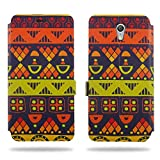Cool Mango Ceego Printed Flip Cover for Lenovo Zuk Z1 – 100% Premium Faux Leather Printed Flip Case for Lenovo Zuk Z1 with 360 Degree Stitching, Magnetic Lock, Card Currency Slot