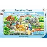 Ravensburger - 06116 - Puzzle Excursion au Zoo - 15 pièces