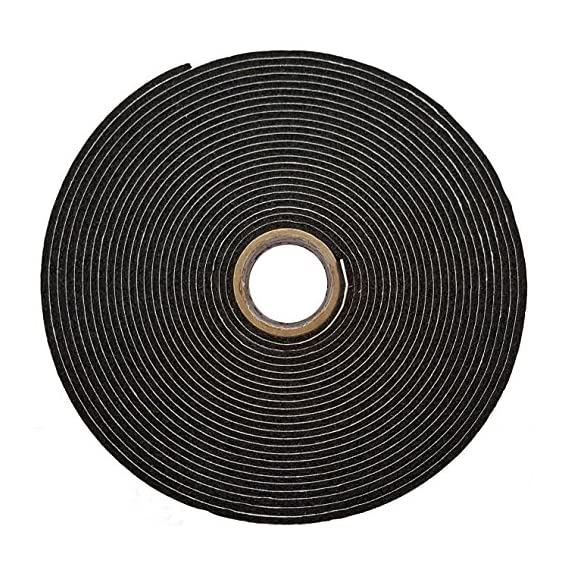 Alp Nitrile Self Adhesive Insulation Foam Tape, ECOTAPE, Class O, Width 2 inch x Thick 3 mm x Length 9.1 mtr, Pack of 1 pcs
