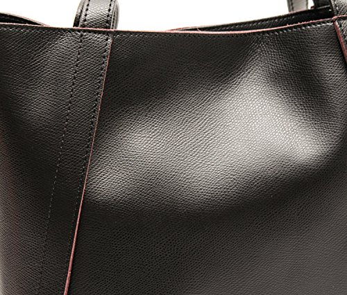 Coccinelle Borsa Donna New Margherita Pelle Dundee Nero