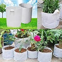 Bluelover 10pcs 30x25cm tessuti Non tessuti radice controllo borsa fiori