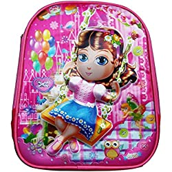 Batu Lee Worldcraft 3D Princess 13 inch Pink Waterproof Children's Backpack (Pre School)