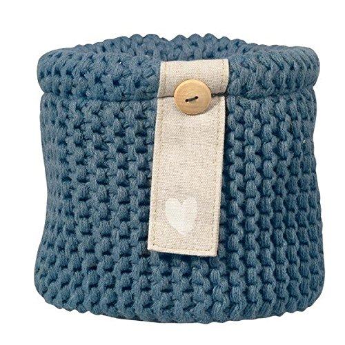 rader-collection-zuhause-panier-au-tricot-bleu-jardin-dhiver-diametre-14-cm-h-13-cm