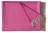 Eagle Products Fischgratplaid Havanna Decke aus 100 % Lammwolle, 150cm x 215cm