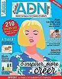 Abonnement ADN magazine - 1 an - 4 numéros + 2 lots d'étiquettes et papiers créatifs DIY...