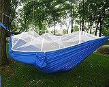 MONEYY Como redes de paracaídas hamacas outdoor camping anti-mosquito swing carpas acondicionadas con aire árbol dedicado 270*140