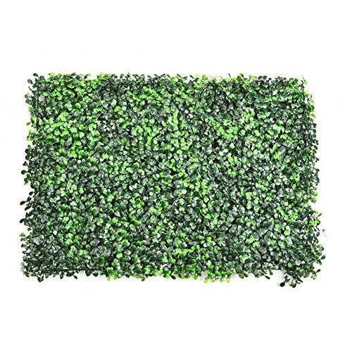 Kunstpflanze HängeEmulational Ivy Künstliche Ivy Leaf Plastic Garden Screen Rolls Wand Landschaftsbau-Fake Turf Pflanze Wand Hintergrund Dekorationen Gartenzaun Künstliche Duftenden Thoroughwort Rasen