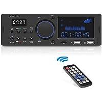 ieGeek Autoradio Bluetooth Main Libre, FM/ AM/ RDS Poste Radio Voiture Bluetooth (30 Stations de Mémoire), Double…