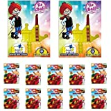 #10: Toy King 1000 Pcs Water Ballons & 2 Sets of Tie Ball