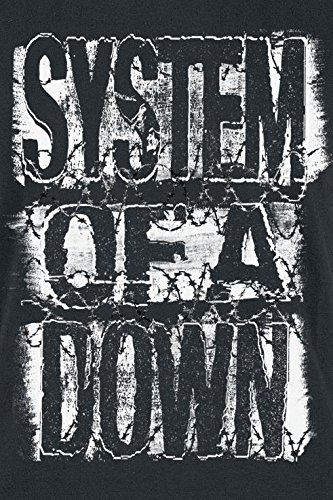 System Of A Down Shattered T-shirt Femme noir Noir