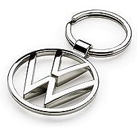 Volkswagen 000087010BN Portachiavi VW New in Metallo, Colore: Argento, s