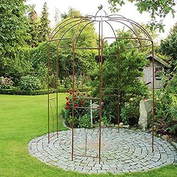 clp xxl rosenbogen mit 2 b nken pergola pavillon gr e. Black Bedroom Furniture Sets. Home Design Ideas