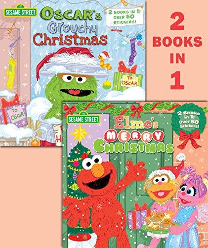 Elmo's Merry Christmas/Oscar's Grouchy Christmas (Sesame Street) (Pictureback(r))
