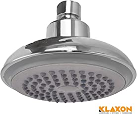 Klaxon Rado G0199IT0040 Plastic Shower Head (Silver, Chrome Finish)