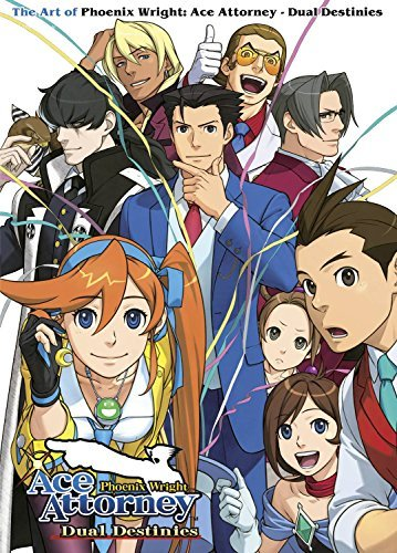 The Art of Phoenix Wright: Ace Attorney - Dual Destinies by Capcom (2015-09-29)