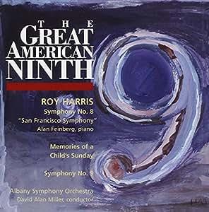ROY HARRIS:SYMPHONY NO.8 /NO.9/Memories of a Child's Sunday