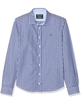 Hackett London Blue Gingham Check Y, Blusa para Niños