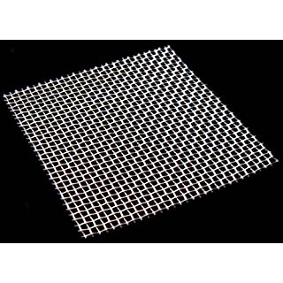 Woven Wire Mesh by Inoxia - 8 mesh (Stainless Steel 304L) – 2.5mm Aperture - Cut Size: 30cmx30cm