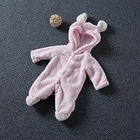 Kemai 0~ 9mesi neonato ragazzi ragazze Animal Bodysuit outfit costume tutina con cappuccio vestiti set