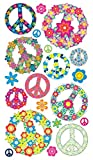 Sticko Pegatinas con diseño de símbolos de la Paz