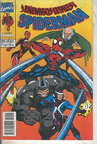 Spiderman enemigos letales numero 1
