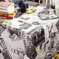 Wachstuchtischdecke Wachstuch Wachstischdecke Tischdecke abwaschbar New-York Taxi Manhattan Liberty Größe wählbar von ANRO bei Gartenmöbel von Du und Dein Garten