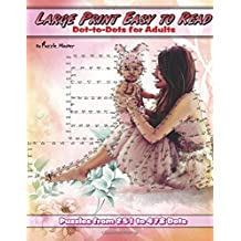 Large Print Easy to Read Dot-to-Dots for Adults: Volume 9 (Premium Dot-to-Dots for Adults)