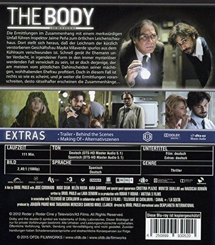 The Body - Die Leiche [Blu-ray]