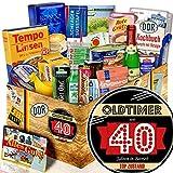 Oldtimer 40 - Süßigkeitenset zum 40. - Ossi Spezialitäten