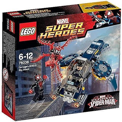 LEGO - El ataque aéreo de matanza a Shield, multicolor (76036)