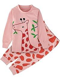 Mombebe Infantil Pijama Niña Sirena Ropa de Dormir