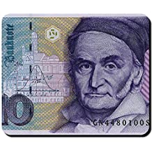 10Marco tedesco moneta fittizia Carl Friedrich Gauss denaro banconota–Tappetino per mouse mousepad computer laptop pc # 16345