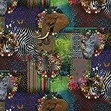 Fabulous Fabrics Zoo Mix — Meterware ab 0,5m — zum