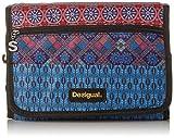 Desigual Damen Pouches_Hanging Birmania. U. 3000 Münzbörse, Rot (Carmin), 6.5x16.5x22 cm