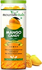 Nourishvitals Mango Dried Fruit (Dehydrated Fruits) - 200 Gm