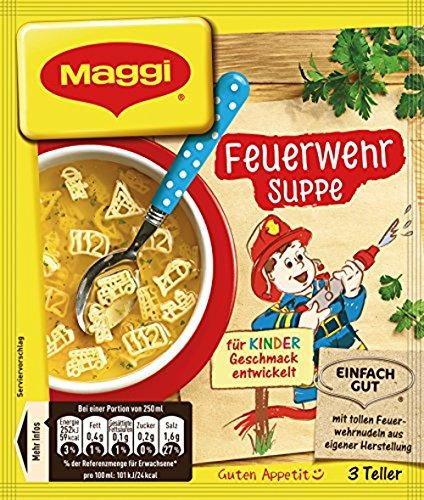 Maggi Feuerwehr Suppe, 1er Pack (1 x 53 g)