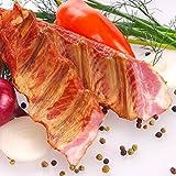Frische, leckere und exquisite Rippchen aus Schweinefleisch geräuchert ugf. 1500g Thermisch geschütze Verpackung garantiert frische Lieferung