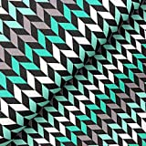 Swafing GmbH - Stoff - Sweat Crazy Shapes Fischgräte Mint