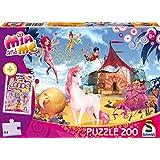 Schmidt Spiele Puzzle 56142 - Mia and me, Funtopia, 200 Teile inkl. CRAZE Loops