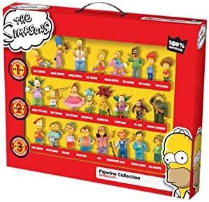 The Simpsons 25 Piece Figurine Set Amazon Co Uk Toys Amp Games