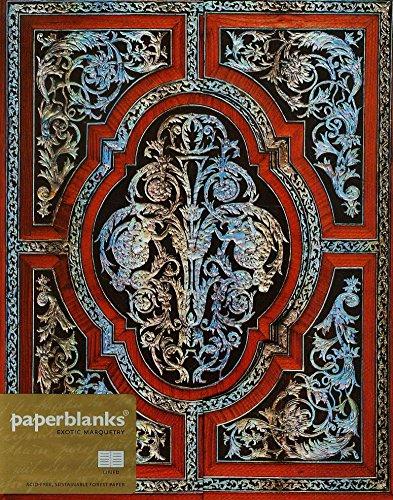 Descargar Libro Carnet PAPERBLANKS Ligné - Ultra 180x230 mm - modèle Marqueterie Exotique série Nacre de Unknown