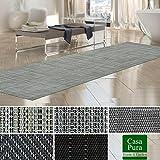 Tapis intérieur extérieur casa pura résistant, antisalissure, impermeable et antidérapant | nombreux design/tailles | Matera - 60x100cm